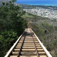 Photo taken at Koko Head Crater Trail by Mikey V. on 10/5/2012