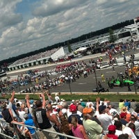 Photo taken at Pocono Raceway by Kurt M on 7/10/2013