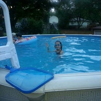 Photo taken at Marshall Pool by Lynnery on 7/20/2013
