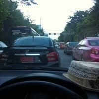 Photo taken at Prachanukun Intersection by Anya S. on 5/18/2013