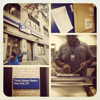 Photo taken at US Post Office - Times Square Station by Carter M. on 11/28/2012