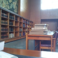 Photo taken at Biblioteca Nacional de Portugal by Mario Cesar L. on 4/29/2013