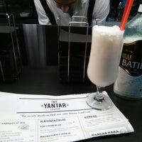 Photo taken at Yantar Café by Beatriz A. on 8/23/2014