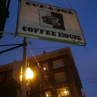 Photo taken at Cup-A-Joe Coffee House by Hanz C. on 7/7/2013