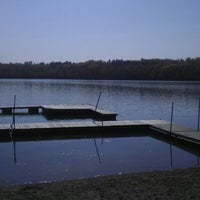 Photo taken at Camp Wilderness Waterfront by Brad O. on 9/29/2012