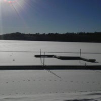 Photo taken at Camp Wilderness Waterfront by Brad O. on 1/4/2013