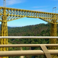 Photo taken at Monumento Nacional Puente Malleco by Charlotte F. on 1/6/2013