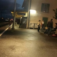 Photo taken at Gare d'Avenches by Berivan S. on 10/21/2014