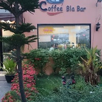 Photo taken at Coffee Bla Bar by narin s. on 3/23/2014