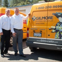 Photo taken at Gilmore Heating Air Solar by Gilmore Heating Air Solar on 9/18/2015