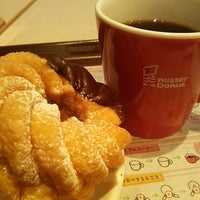 Photo taken at Mister Donut by hiro m. on 4/7/2013