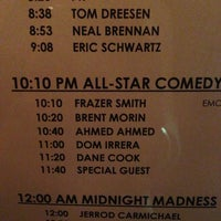 Photo taken at Laugh Factory by Chanelle M. on 7/13/2013