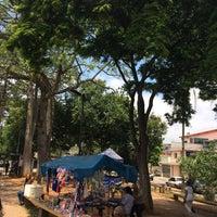 Photo taken at Praça Luis Augusto Canteiro (Praça do Samba) by Kleber Y. on 1/23/2016