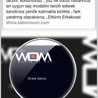 Photo taken at WOM Kuafor by Ömer D. on 8/22/2014