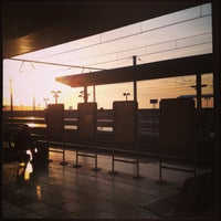Photo taken at Tarragona Railway Station by Dominique R. on 4/16/2013