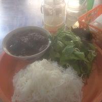 Photo taken at Bún Chả Tuyết by Nikhil C. on 11/21/2016