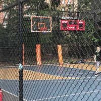 Photo taken at West 4th Street Courts (The Cage) by Steve J. on 10/16/2017