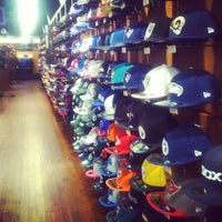 Photo taken at New Era Flagship Store: New York by Steve J. on 12/15/2012
