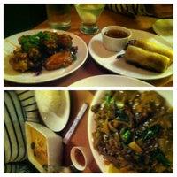 Photo taken at Song Thai Restaurant & Bar by Steve J. on 1/12/2013