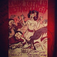 Photo taken at Deep South Bar by Sean S. on 3/27/2013