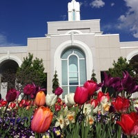 Photo taken at Mount Timpanogos Utah Temple by David W. on 5/10/2013