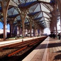 Photo taken at Gare do Oriente Train Station by Filipe M. on 11/9/2012