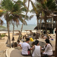 Photo Taken At Papaya Playa Beach Club By Abdi A On 3 8