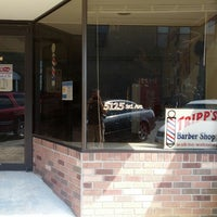 Photo taken at Tripp's Barber Shop by Joey T. on 8/5/2014