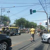 Photo taken at Dr. A. Santos Avenue (Sucat Road) by Bert C. on 4/19/2016