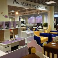 Снимок сделан в Мебельный центр «Круиз» пользователем Yana T. 3/23/2013