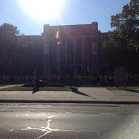 Photo taken at UWM Mitchell Hall by Keri D. on 8/31/2013