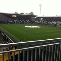 Photo taken at Craven Cottage by Ian H. on 9/29/2012