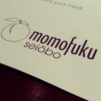 Photo taken at Momofuku Seiōbo by Krıstófer-Þórır D. on 1/1/2013