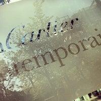 Photo taken at Fondation Cartier pour l'Art Contemporain by Krıstófer-Þórır D. on 5/4/2013