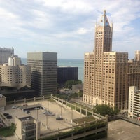 Photo taken at DoubleTree by Hilton Hotel Chicago - Magnificent Mile by Kara S. on 7/19/2013