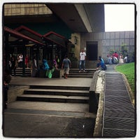 Photo taken at Ang Mo Kio MRT Station (NS16) by Michael P. on 12/16/2012