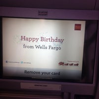 Photo taken at Wells Fargo Bank by Kimberly S. on 6/8/2013