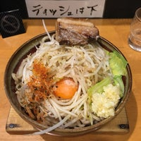 Photo taken at つけ麺 まぜ郎 ぎんや 砂田橋店 by あお on 3/5/2017