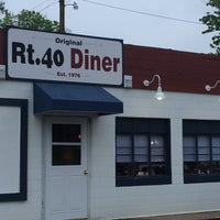 Photo taken at Route 40 diner by Michael G. on 5/28/2014