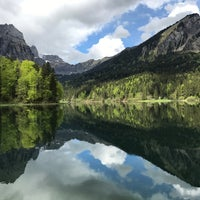 Photo taken at obersee by Franziska K. on 5/20/2017