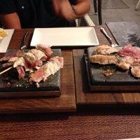 Foto tomada en Saffron Restaurant & Tapas por luca b. el 8/14/2013