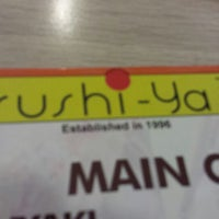 Photo taken at Sushi-Ya by Rey D. on 10/4/2013