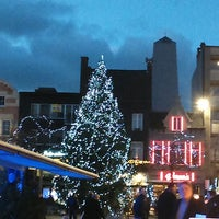 Photo taken at Kerstmarkt Roeselare by Anja D. on 12/6/2014