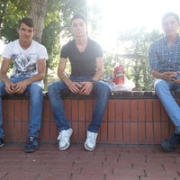 Photo taken at Kamil Güngör Parkı by Ahmet Can I. on 8/24/2014