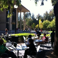 Photo taken at Coupa Café at Green Library by H. K. on 9/15/2012