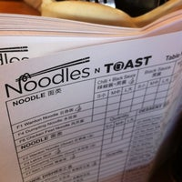 Photo taken at Noodles & Toast by Carol on 3/10/2013