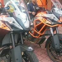Photo taken at Bike Station KTM by Zharfan Z. on 11/7/2015