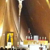 Photo taken at Iglesia San Josemaria by Gabriela O. on 12/2/2012