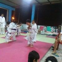 Photo taken at Club Deportivo Carlos Pin Karate Shotokan by Carmen B. on 8/24/2014