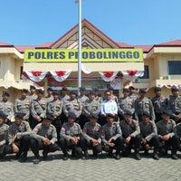 Photo taken at Polres Probolinggo by Endy S. on 8/25/2014